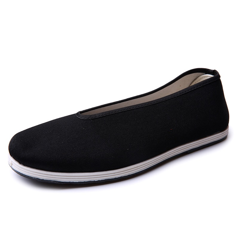 Traditional Rubber Canvas Driver Walking Kungfu shoes for Men