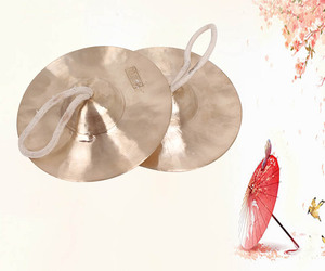 Percussion instrument copper cymbals , chinese hihat cymbals