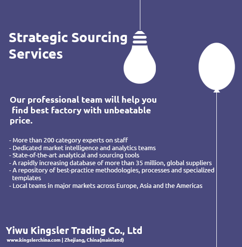 Strategic Sourcing Consultancy Services - Kingsler Sourcing Consultancy Services
