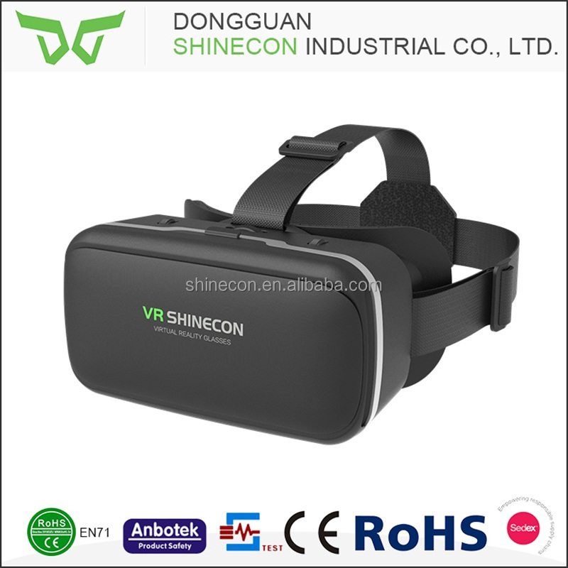 2017 Hot Selling Google Cardboard Virtual Reality 3d Glasses,3d Vr Glasses For Smart Phone,Phone Accessory