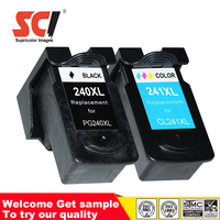 Factory price Remanufactured ink cartridges compatible Canon pg240 cl241