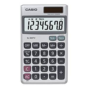 "Casio Computer Co., Ltd - Casio Wallet Style Pocket Calculator - 8 Character(S) - Lcd - Solar, Battery Powered - 4.6"" X 2.8"" X 0.3"" ""Product Category: Office Equipment/Calculators"""