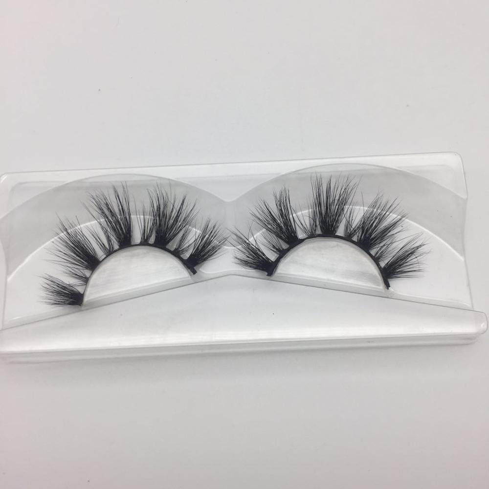 Custom Private Label 3D Mink Eyelashes high quality 100% 5D mink lashes Hot sale lshes eyelashes mink, Black