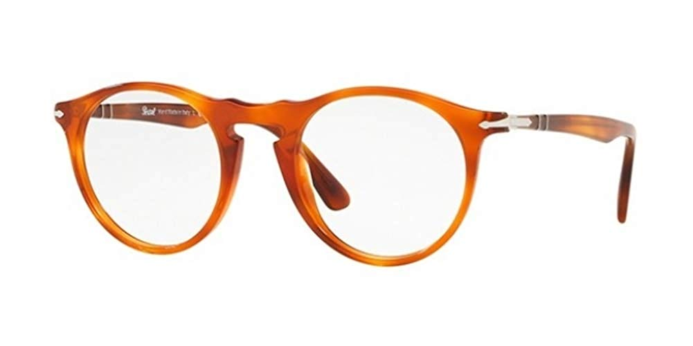 b4f48638d84cf Get Quotations · Persol PO3201V Eyeglass Frames 96-49 - Terra Di Siena  PO3201V-96-49