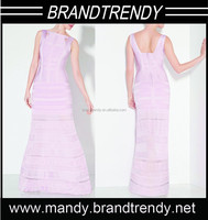 Wholesale New arrival fashion bandage dress celebrity dress ball gown indian evening dress