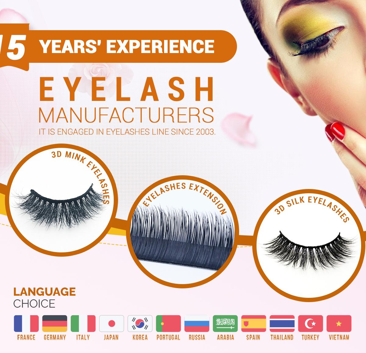 Beauty Essentials Beauty & Health Wholesalemink False Eyelashes 3d Mink Lashes Volume Eyelash Extension Beauty Personal Care Custom Eyelash Packaging China Vendor