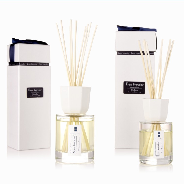 Glas kerst decoratieve thuis kamer geur aroma geur auto luxe porselein reed diffuser