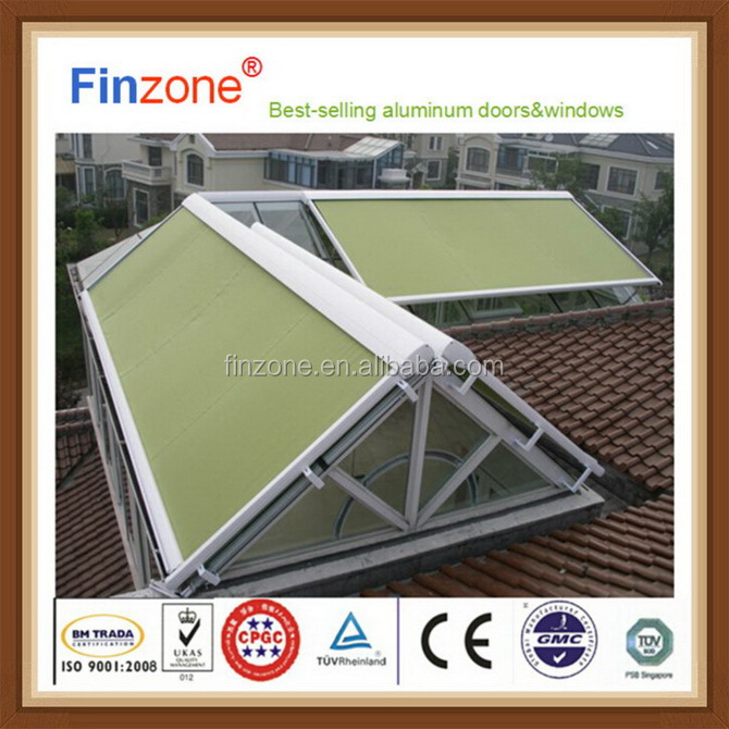 Economic most popular rain sun protection retractable awning