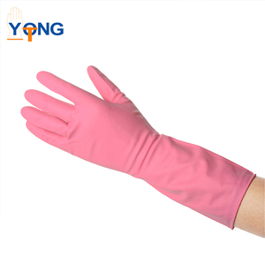 Energy Saving l size household pvc gloves for women sandwich bread toast plate
