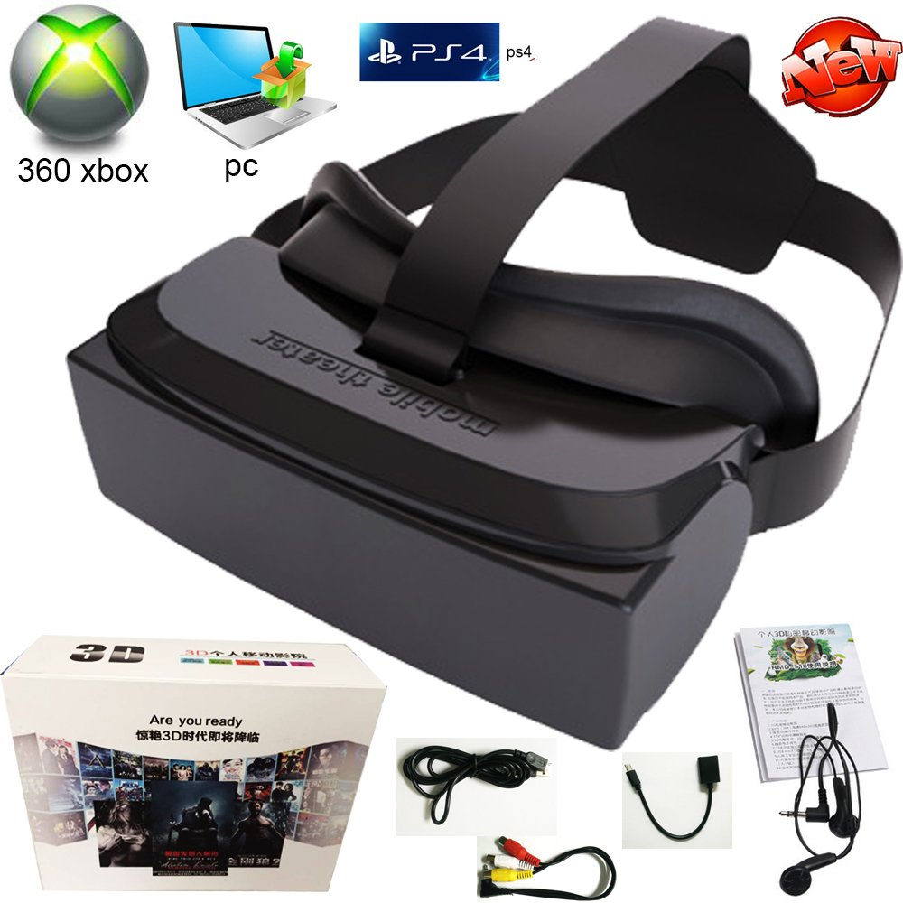 3ed185df6ea2 Get Quotations · Shengsite VR Gaming 3D Glasses 8GB Rom Game Movie All in One  Portable VR Virtual Reality