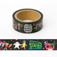 Most Popular Custom Happy Birthday Description PVC Washi Tape