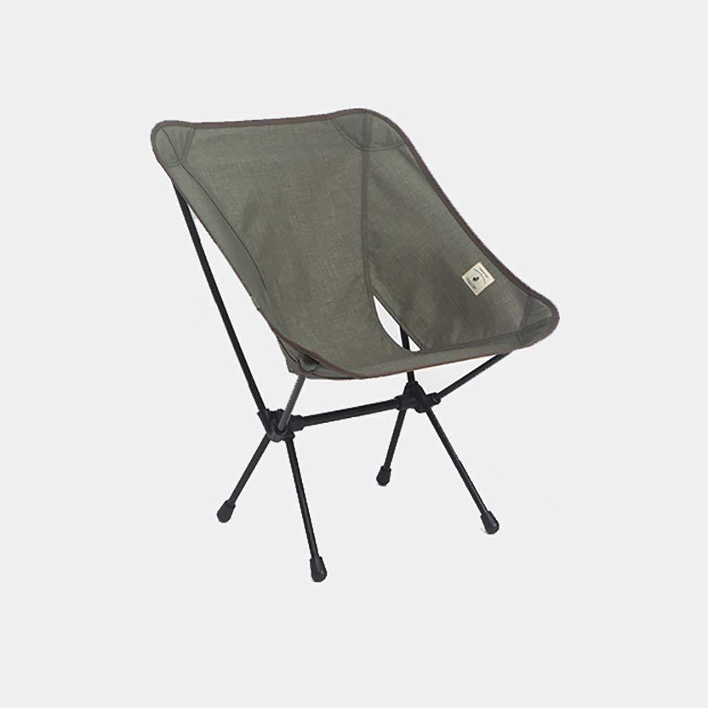 Outdoor Folding Camping Chair, Deck Chair Recliners European Lounge Chair Portable Leisure Fishing Beach Chair Ultralight Moon Chair Heavy Duty 220 Lb