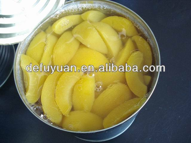 Canned Yellow Peach slice In heavy Syrup