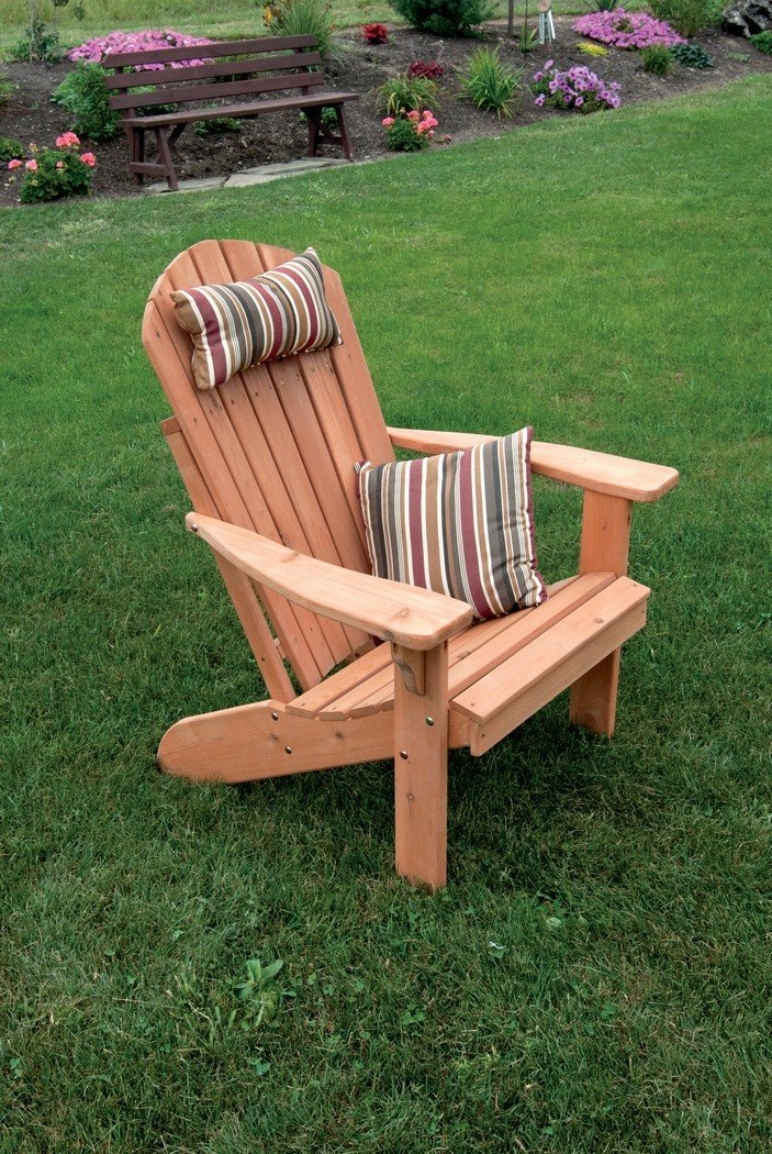Get Quotations A L Furniture 667c Unfinished Fan Back Adirondack Chair