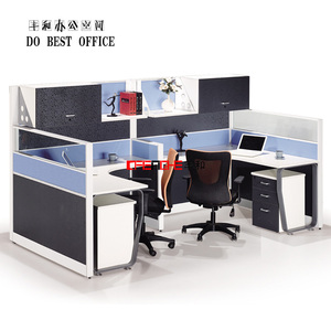 2 person workstation office cubicle design SS6002