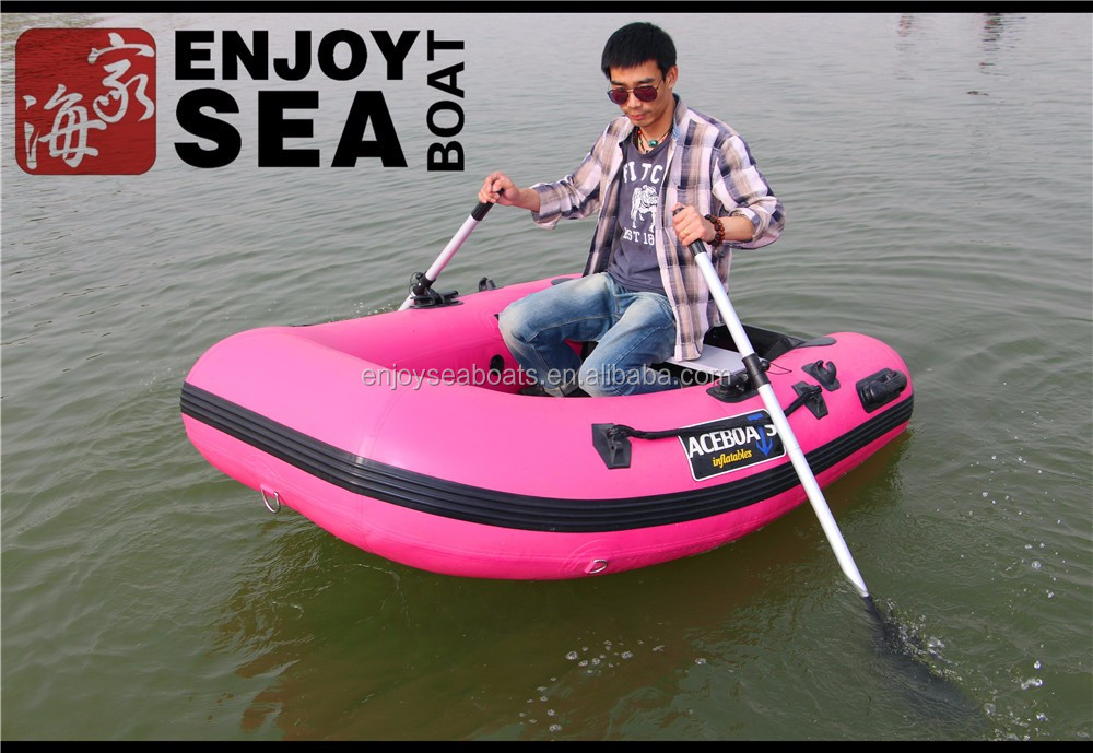 The One Person Small Inflatable Fishing Boat With Ce ...