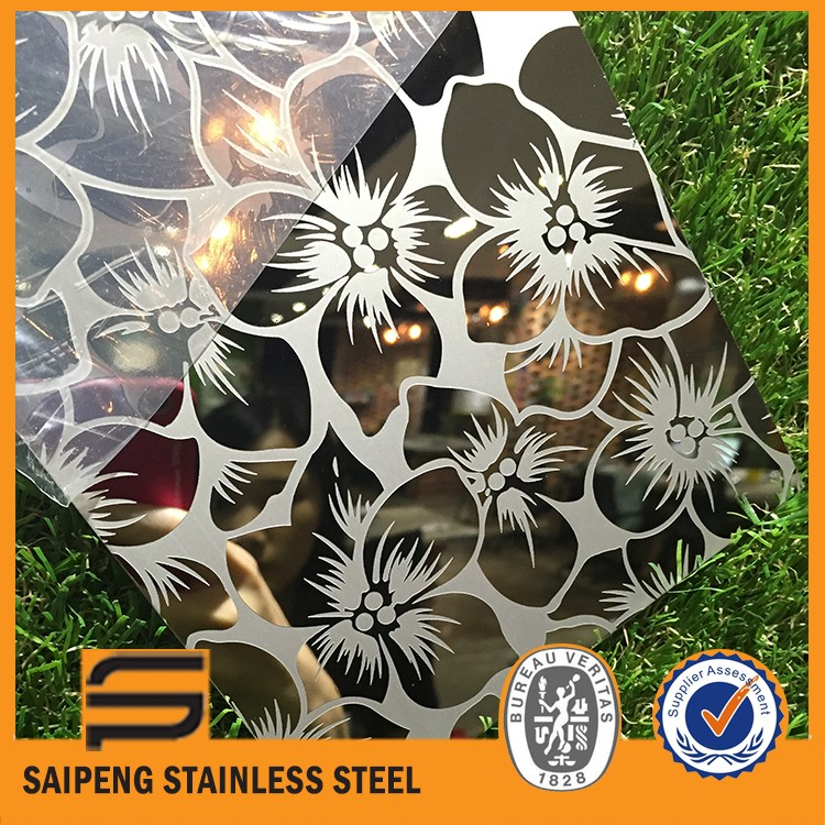 Famous brand large stock decorative steel sheet for interior wall panels