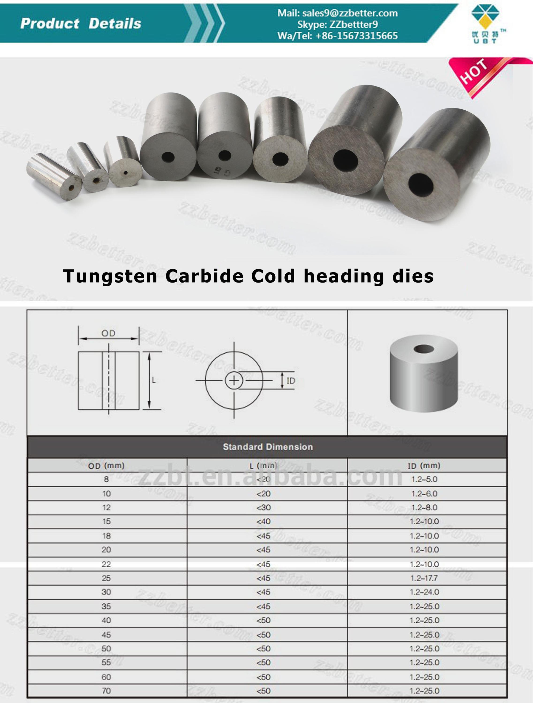 Cemented carbide die tungsten carbide extrusion die for brass pipe