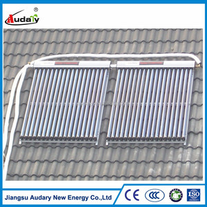 low price heat pipe solar thermal collector