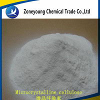 Microcrystalline cellulose binding agent