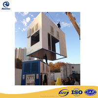 Soundproof generator enclosure for gas station