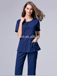 customized scrub suit designs High quality hospital female nurse uniform medical scrubs new style nurse uniform