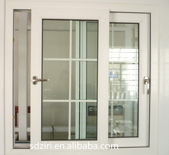 Brand new sliding balcony powder coated aluminium wood window with high quality