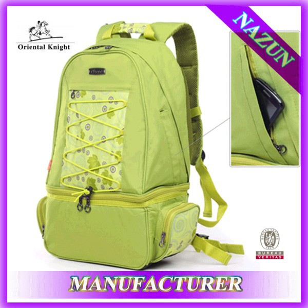Lemon color 2 persons bicycle picnic bags,personalized large capacity travel bag