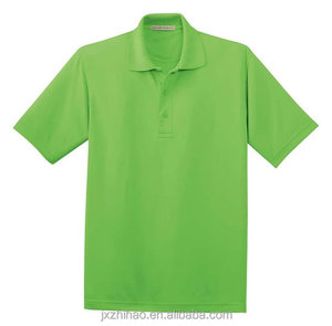 plain 100% nylon polo shirt for men