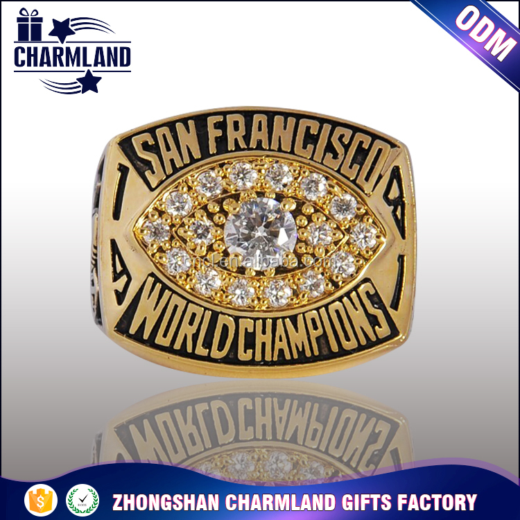 Trade Assurance custom fantasy football championship ring welcome OEM championship rings