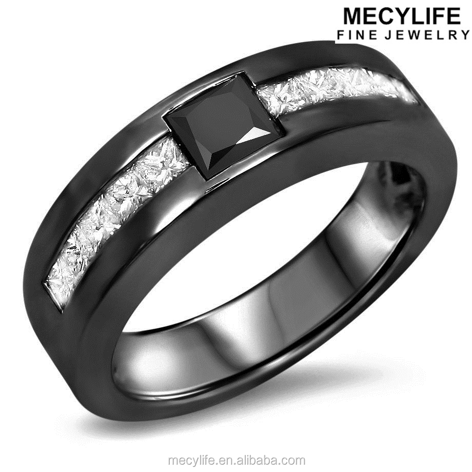 Black Stone Ring For Men, Black Stone Ring For Men Suppliers And  Manufacturers At Alibaba