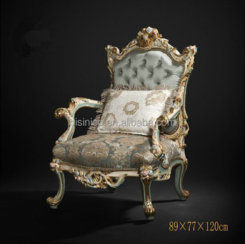 Superb Royal Silk Fabric Single Sofa Queen Anne Marquetry Wooden One Seat Sofa Vitoria Style Living Room Furniture Arm Chair Buy Wood Carved Living Room Gamerscity Chair Design For Home Gamerscityorg