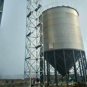 Used farm 1000 cone bottom 300 ton cement silo for agriculture industry