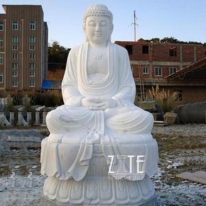 Natural Solid Stone large buddha statue for sale