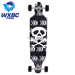 31 inch design your own skateboard wholesale China northeast maple skateboard deck grip tape custom wooden skateboard for sale