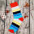 Colorful and Creative Children Cotton sublimation socks