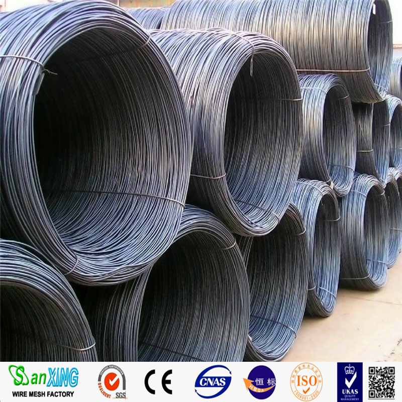 galvanized steel wire / drawing electro wire / nail wire steel rod in coils