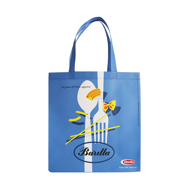 Non Woven Fashion Tote Bags, Folding Style Shopping Bag With Logo Custom