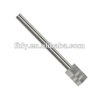Flat Finial Aluminum Material Curtain Rods