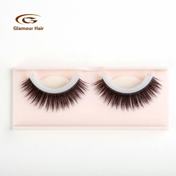 7586fcb2ce7 2018 New No Using Glue Easy To Wear Fake Lashes Synthetic Silk Self  Adhesive False Eye