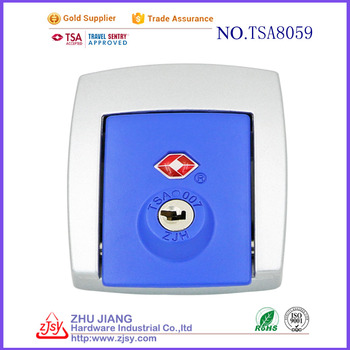 Zhujiang Factory High Security Hard Case TSA Panel Latch Lock