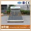 High quality heat pipe copper vacuum tube solar water heater
