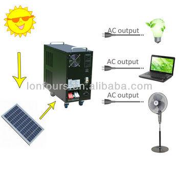 100 ~ 720wp Solar Verlichting Kits Voor Buitenverlichting - Buy ...