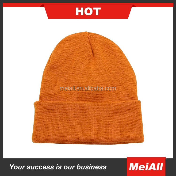 Custom Jacquard Knitted Hat Winter Toque