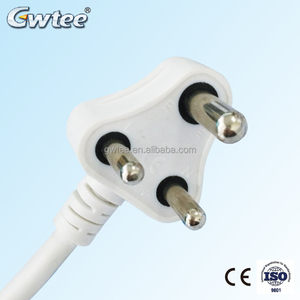 small south Africa India Plug /Extension Cord