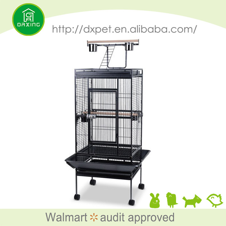 DXPC005 Eco-friendly cheap price durable stainless steel parrot cage