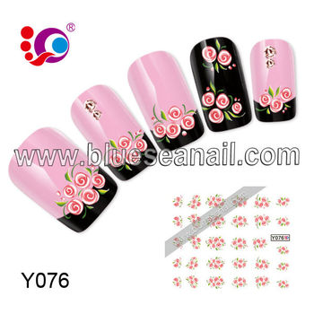 2014 New Designs Fashion Nail Ar Sticker Nail Accessories Custom