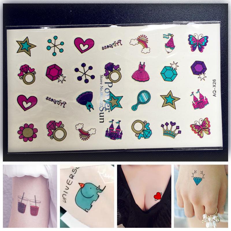 Small Mirror Tattoo: Hoge Kwaliteit Kleine Sterren Tattoos-Koop Goedkope Kleine