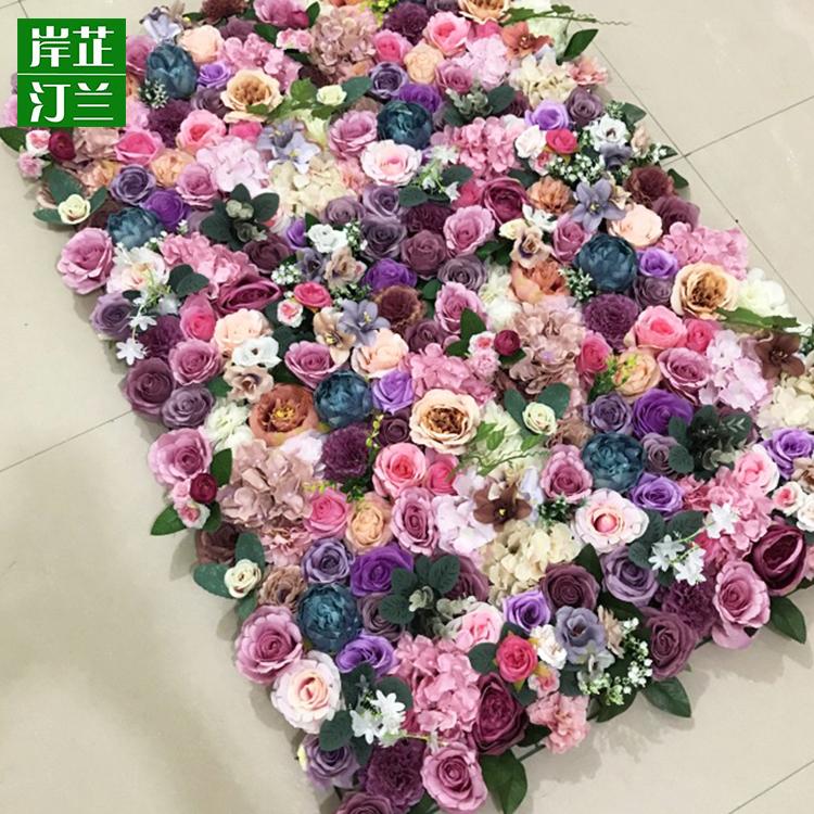 Rose Flower Wall Decor Silk