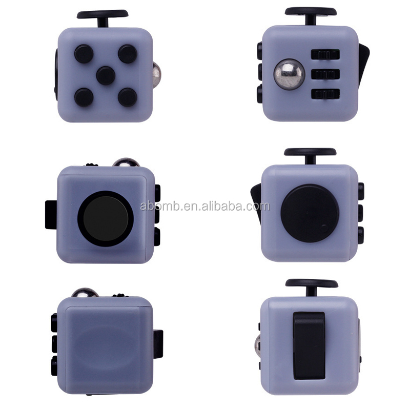 2017 hottest item anti stress fidget cube desk toy/fidget cube stress relief toys/fidget cube